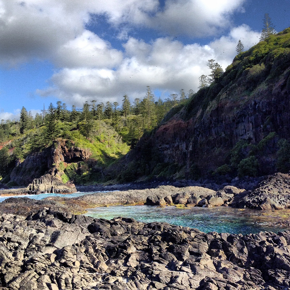 Australia South Pacific: Norfolk Island . South Pacific